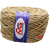 M.G ENTERPRISE Jute Twine Threads String Rope 3 Ply 120m for Creative Decoration