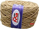#4: M.G ENTERPRISE Jute Twine Threads String Rope 3 Ply 120m for Creative Decoration