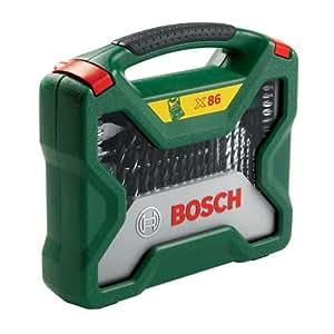Bosch 2607019601 X-line Coffret de mèches 86 pièces