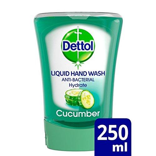 Dettol No Touch Hand Wash Recharge de savon concombre 250ml