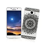 XiaoXiMi Coque Samsung Galaxy A3 2016 SM-A310F Housse Transparent Etui en Silicone Soft Clear TPU Case Cover Housse Souple de Protection Coque Mince Léger Etui Flexible Lisse Couverture Anti Rayure Anti Choc Housse avec Désign Simple - Tournesol Noir Rétro