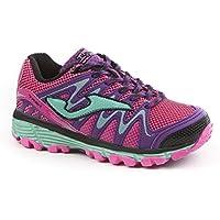 Joma Trek Jr 705 Navy - Zapatillas de Deporte para niña - Girl'S Trail Running Shoes