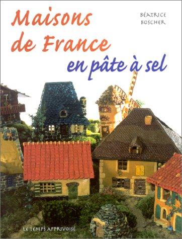 Maison de France en pâte à sel