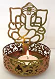 #3: Moradabad Handicrafts Shadow Ganesh Ji Tea Light Holder BY MH