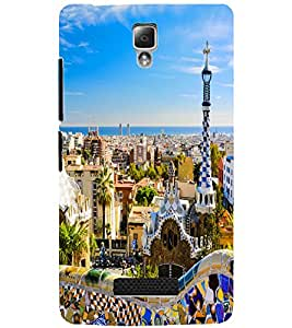 LENOVO A2010 CITY VIEW Back Cover by PRINTSWAG
