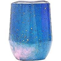 Preisvergleich für Igemy 3D Fantasy Sternenhimmel Gedruckt Wasser Tasse Bunte Edelstahl Stemless Wein Tee Tasse Doppelwand Vakuumisolierung...