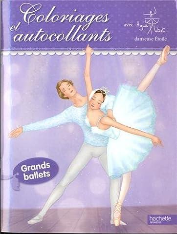 Agnes Letestu - Coloriages et autocollants danse - danseuses