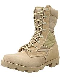 Mil-Tec - Zapatos de cordones para hombre, color beige, talla 44