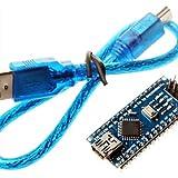 Lozse nano 3.0 atmel ATmega328P bordo de mini-usb w / cable usb para arduino Lozse#430