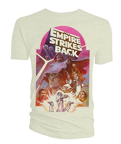 Star Wars T-Shirt Empire Strikes Back Poster Size XL Titan Merchandise shirts