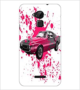 PrintDhaba Car D-2824 Back Case Cover for COOLPAD NOTE 3 LITE (Multi-Coloured)