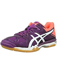 Chaussures femme Asics Gel-TACTIC violet/blanc/corail flash