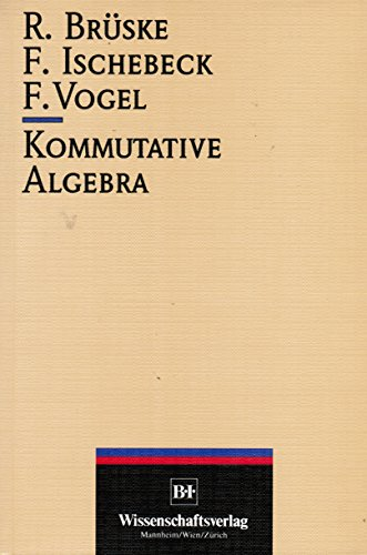 Kommutative Algebra