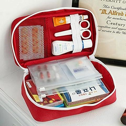 sunnymi Medical Bag Emergency Survival Erste Hilfe Kit/Portable Behandlung Outdoor Home Rescue/Mode Neu (Papier Bag System)