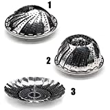 DN Creation Stainless Steel Vita Saver For Steam Cooking Vegetables/Momos