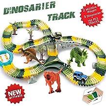 192 Dinosarier Spielzeug Auto Rennenbahn Jurassische Welt
