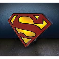 Lámpara logo Superman