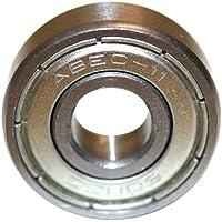Roulements ABEC 7 - Speed Bearings 8x 608 ZZ – Roulements à billes de qualité pour Roller, Skateboard, Longboard , Waveboard par Ambideluxe