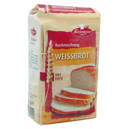 Preisvergleich Produktbild Küchenmeister Brotbackmischung Weissbrot, 15er Pack (15 x 500g)