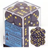 Twilight Speckled D6 16mm 12 Piece Set by Chessex Dice