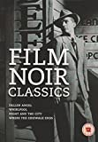 Film Noir Classics (4 Dvd) [Edizione: Regno Unito] [Import italien]