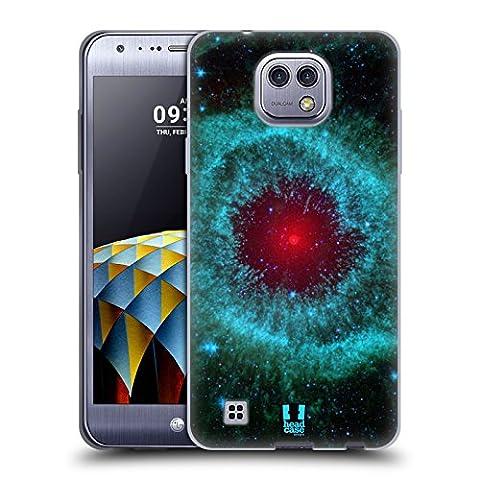 Head Case Designs Nébuleuse D'hélice Espace Étui Coque en Gel molle pour LG X cam