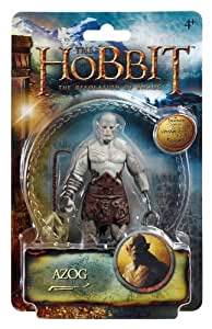 The Hobbit : The Desolation of Smaug - Azog - Figurine 9 cm (Import Royaume-Uni)