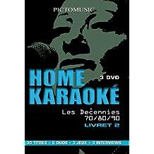 Coffret home karaoke, les decennies 70/80/90, vol. 2
