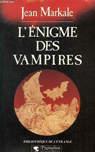 L'énigme des vampires