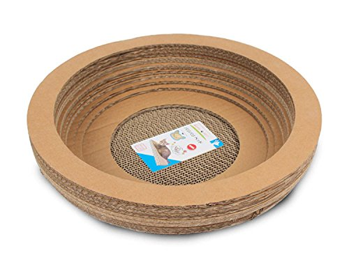 Cat Kitty Bed Scratcher proteggere i mobili da carta ondulata Grind coperta gatto Claw Bowl (Kitty Bowl)