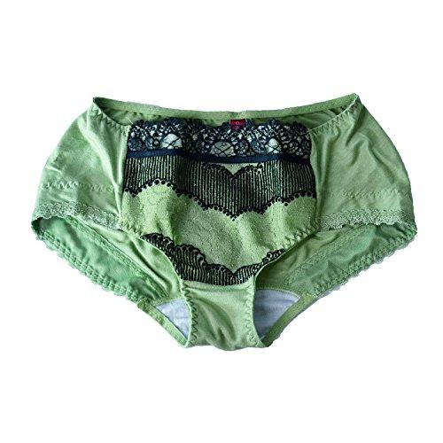 Xnaer Spitzen Unterwäsche Großhandel Hersteller_lace Slip taille Boxer ohne Modal markiert eine Erwähnung im Namen von, Smaragd Grün, M (Smaragd Grün Spitze Korsett)