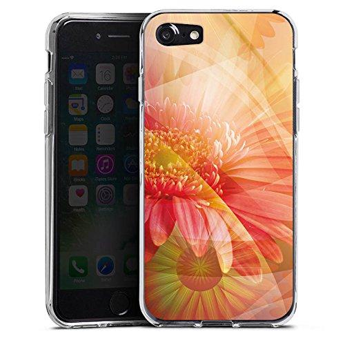 Apple iPhone X Silikon Hülle Case Schutzhülle Blüten Blumen Pflanzen Silikon Case transparent