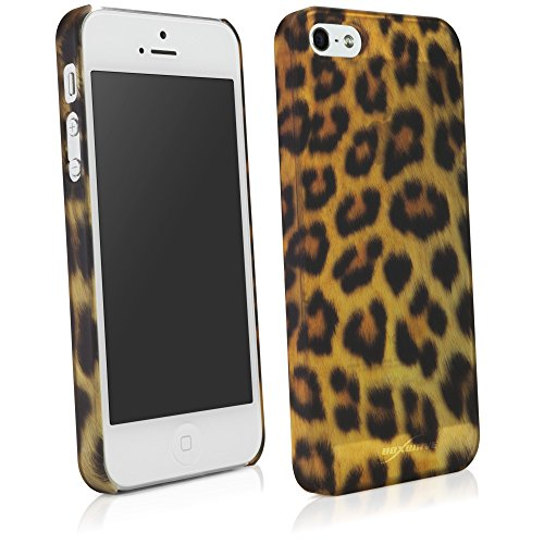 BoxWave Fierce Apple iPhone 5 Fall (Leopard) (Iphone Leopard-fall 5)