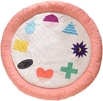 Cuscini da campeggio campeggio campeggio Tappetino da gioco rossoondo per bambini camera da letto con ispessimento per bambini che strisciano tappetino moquette sul comodino ( Dimensione   140cm ) B07F1QB5DF Parent   caratteristica    Vendendo Bene In Tutto Il Mondo    Vog 1a8495