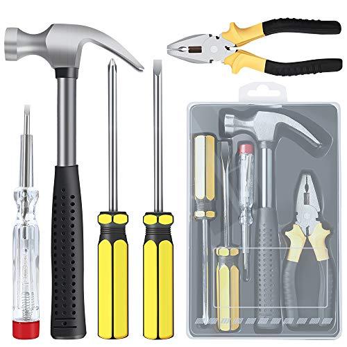E·Durable 5 pcs Kit herramientas reparación hogar