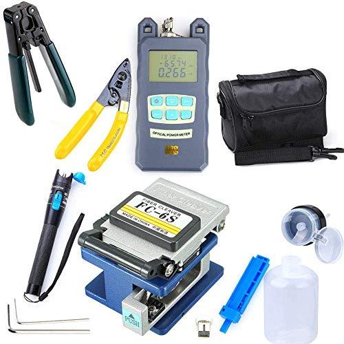 lqgpsx 10 in 1 Glasfaser FTTH-Tool-Kit, einschließlich