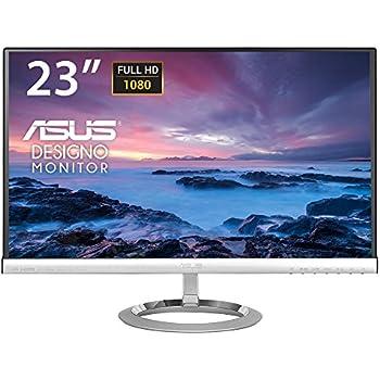 "Asus MX239H Monitor, 23"" Full HD IPS 1920x1080, 250 cd/m2, Nero/Argento"