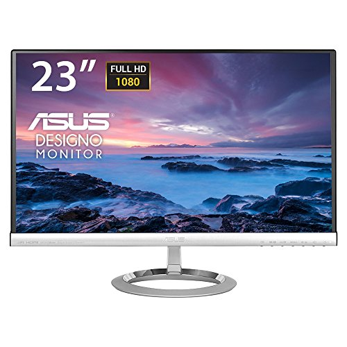 """Asus MX239H - Monitor de 23"""" 1920 x 1080 con tecnología LED, color plata y negro"""