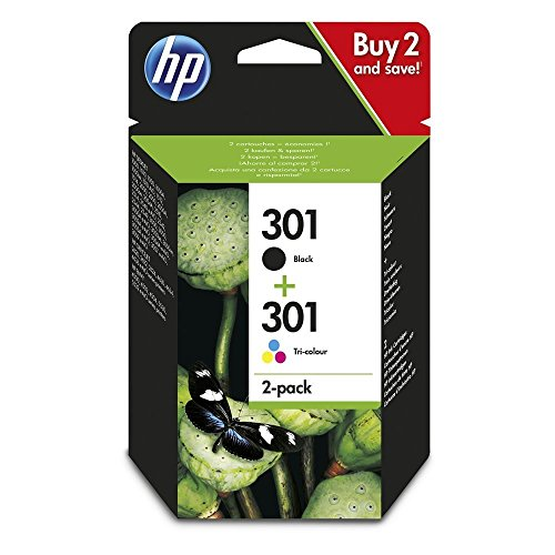 HP N9J72AE 301 Cartucho Tinta Original