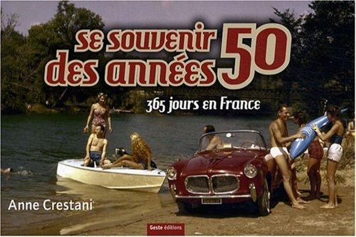 SE SOUVENIR DES ANNEES 50