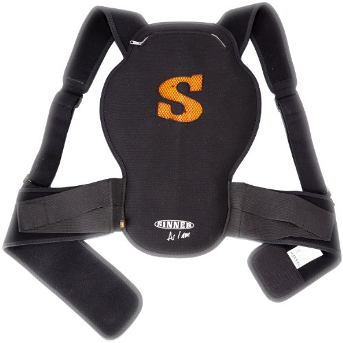 Sinner D3O Soft-Rückenprotektor Castor S schwarz - schwarz