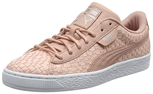 Puma Damen Basket Satin EP WN's Sneaker (Peach -