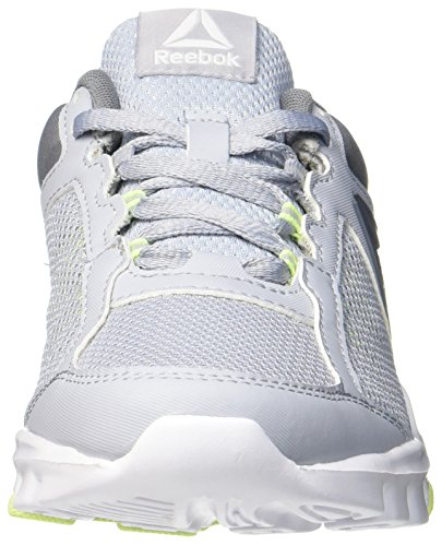 Reebok Yourflex Trainette 9.0 Mt, Chaussures de Fitness Femme Gris (Cloud Grey/asteroid Dust/electric Flash/white)