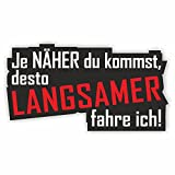 Je näher du kommst Shocker Hand Auto Aufkleber JDM Tuning OEM DUB Decal Stickerbomb Bombing Sticker illest dapper fun oldschool