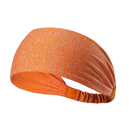 Forfar Yoga Schweißband Stirnband Basketball Laufen Fußball Tennis Sport Gym Multifunktions Sportatmungsaktiv Fitness
