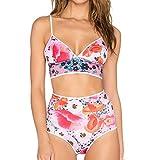 Igemy 2019 Heißer Badeanzugset Heller Farbe Bikini Sport Badeanzug