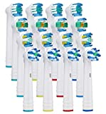 16 Pcs Têtes de brosse à dents Oral B Têtes de brosse de rechange compatible pour...