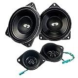 CDT Audio BM4 Kit4 or Compo Président pour BMW et Mini E6X / E7X / E83 / E89 / F0X / R5X / R6X