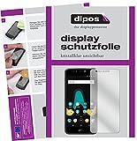 Wiko Upulse Lite Schutzfolie - 2x dipos Displayschutzfolie Folie klar