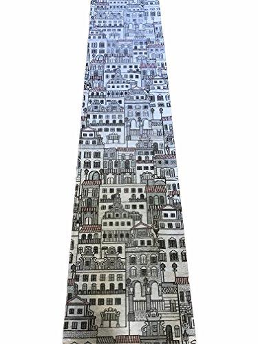 tappeto-cucina-antiscivolo-bianco-nero-design-casette-cm-cm-55x190